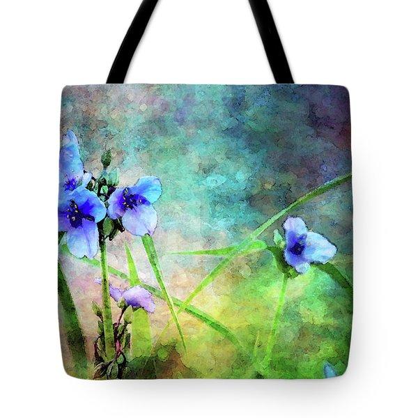 Spiderwort Dance 0115 Idp_2 Tote Bag