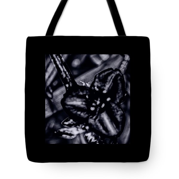 Spiderwort Shining Tote Bag by Gina O'Brien