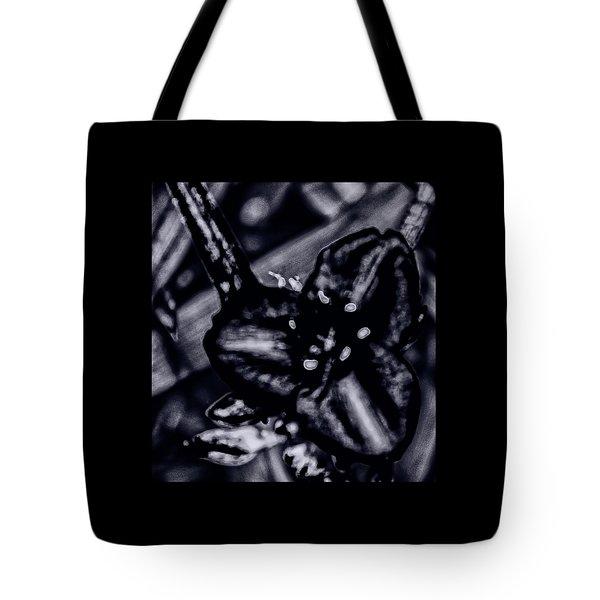 Spiderwort Shining Tote Bag
