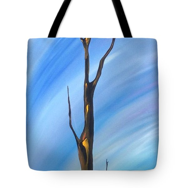Spike Tote Bag by Pat Purdy