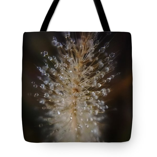 Spiked Droplets  Tote Bag