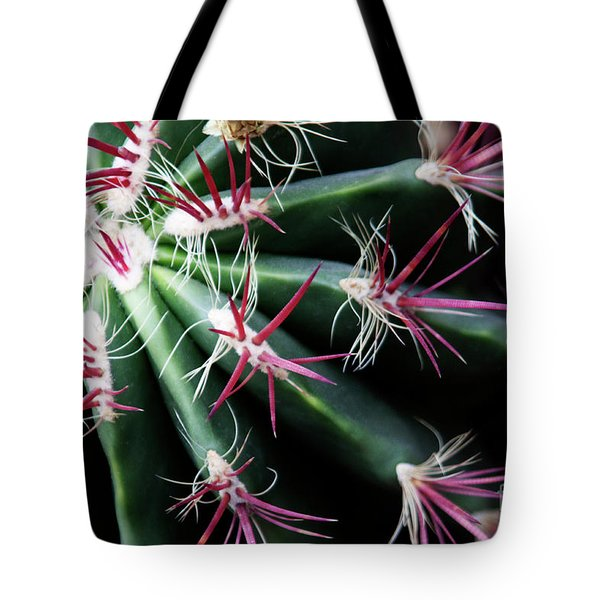 Spikes Tote Bag by Ana Mireles