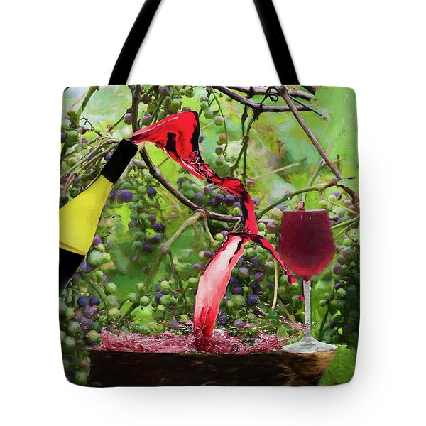 Spilling Wine Is Not Fine 2 Tote Bag