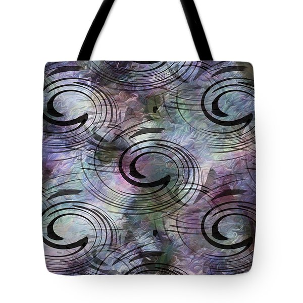 Spin And Platter Tote Bag