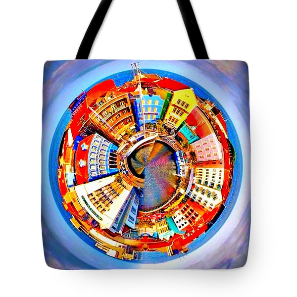Spin City Tote Bag