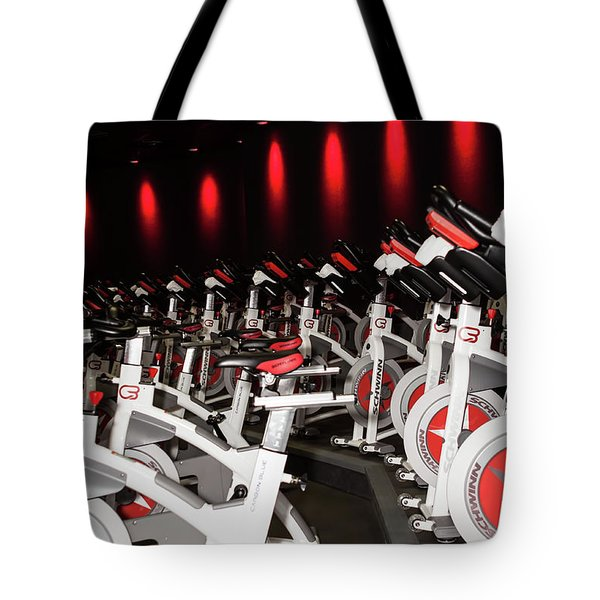 Spin Tote Bag by Lawrence Burry