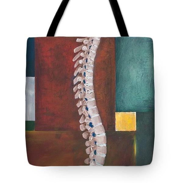 Spinal Column Tote Bag