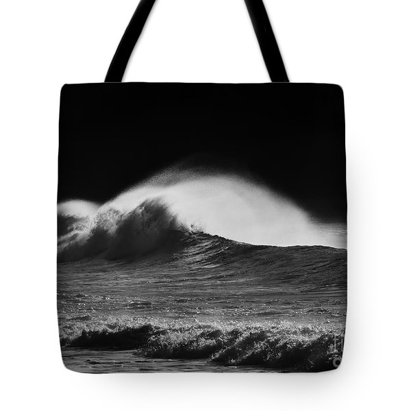 Spindrift Tote Bag by Mike  Dawson