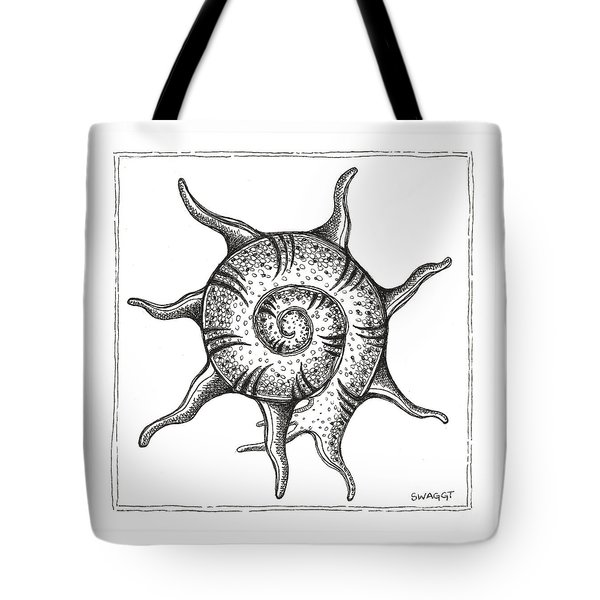 Spiney Nautilus Tote Bag
