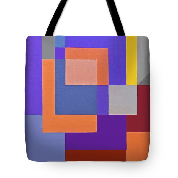 Spring 3 Abstract Composition Tote Bag