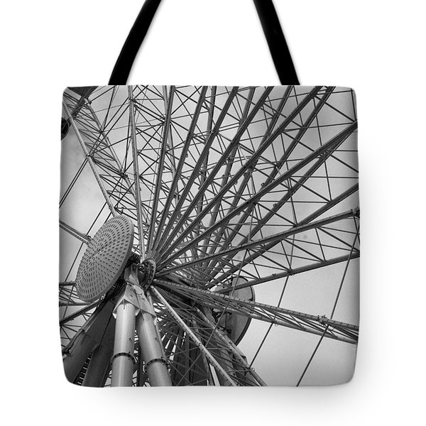 Spining Wheel  Tote Bag