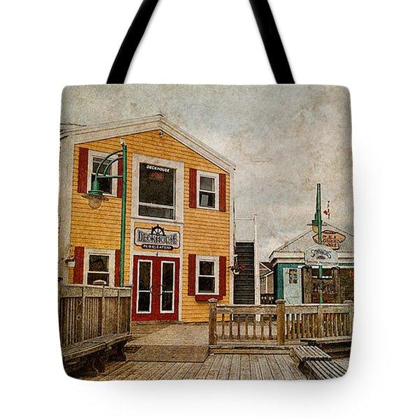 Spinnakers' Landing Tote Bag