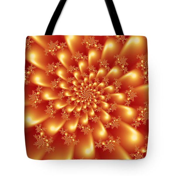Spinning Gold Tote Bag