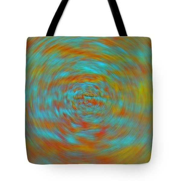 Tote Bag featuring the photograph Spinning Out Of Control by Lenore Senior