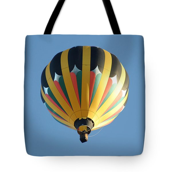 Tote Bag featuring the digital art Spinning Top by Gary Baird