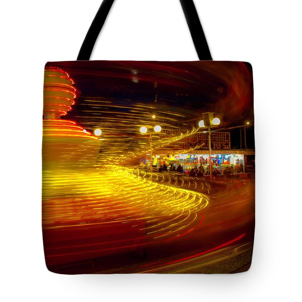 Spinning Until You're Dizzy Tote Bag