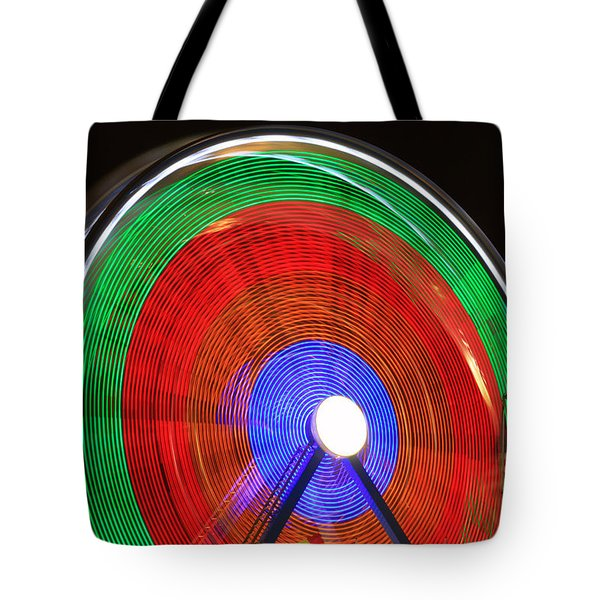 Spinning Wheels Tote Bag by James BO  Insogna