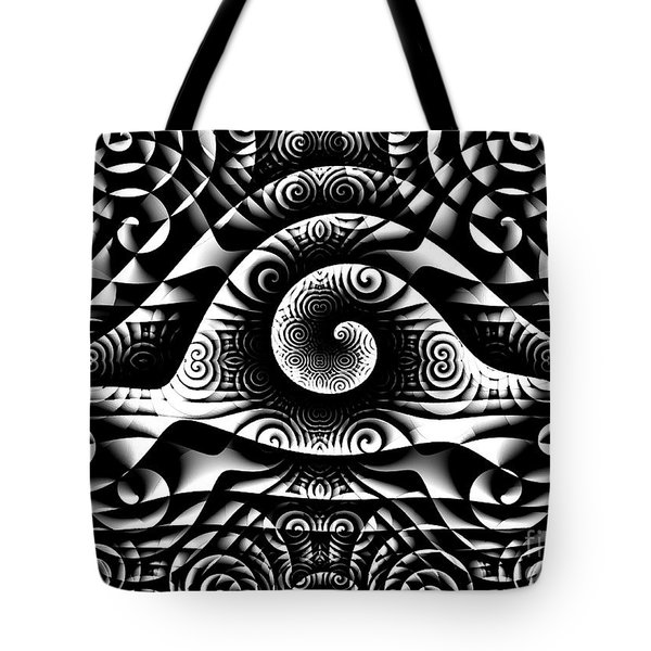 Spiral Abstract 1 Tote Bag