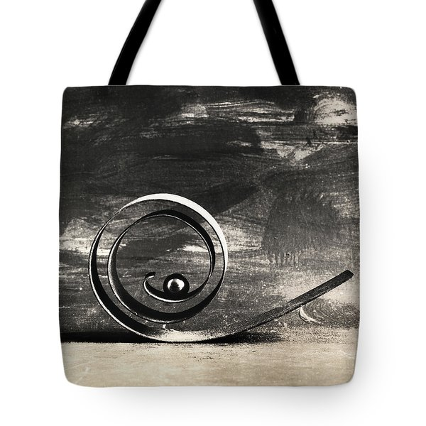 Tote Bag featuring the photograph Spiral And Ball by Andrey  Godyaykin