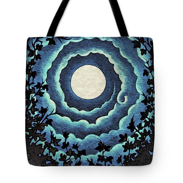Spiral Clouds Tote Bag