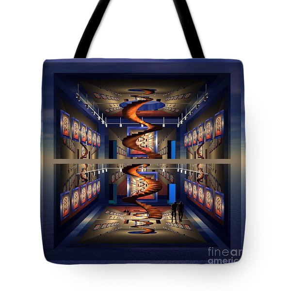 Spiral Gallery Tote Bag