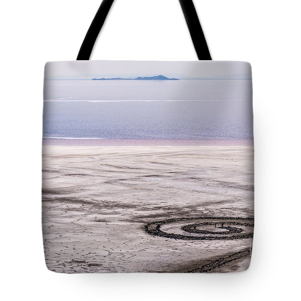 Spiral Jetty - Great Salt Lake - Utah Tote Bag