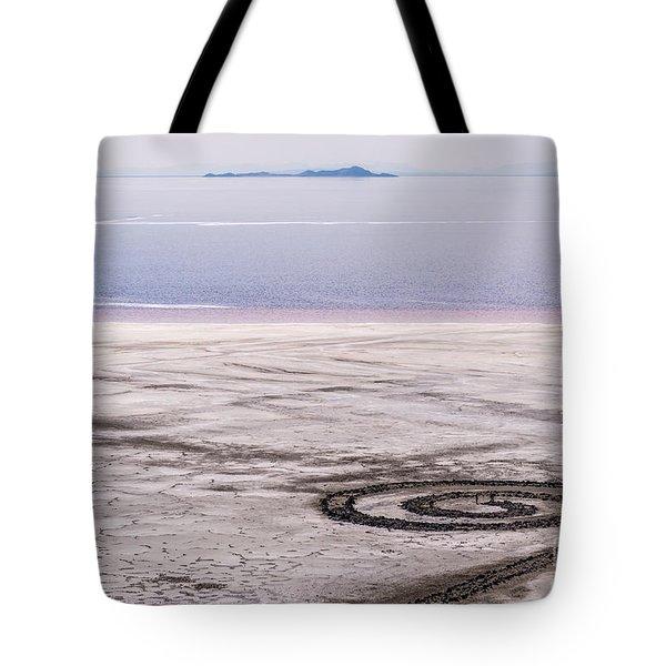 Spiral Jetty - Great Salt Lake - Utah Tote Bag