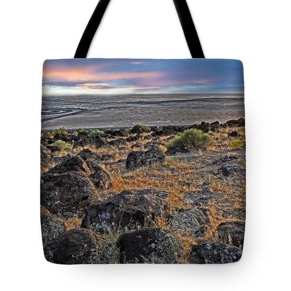Spiral Jetty Tote Bag