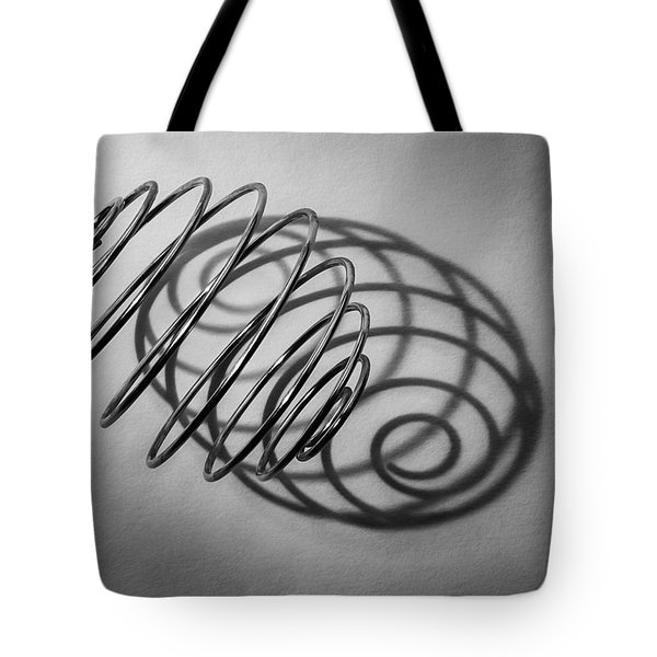 Spiral Shape And Form Tote Bag
