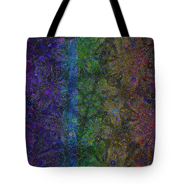 Spiral Spectrum Tote Bag