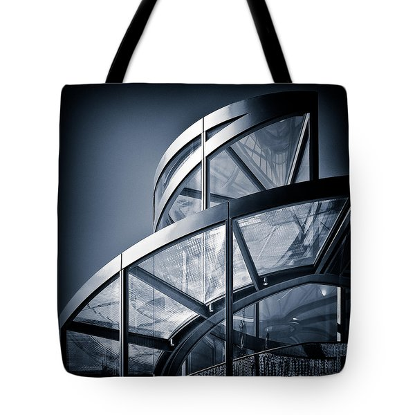 Spiral Staircase Tote Bag by Dave Bowman