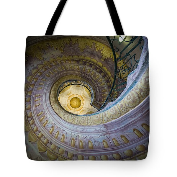Spiral Staircase Melk Abbey I Tote Bag