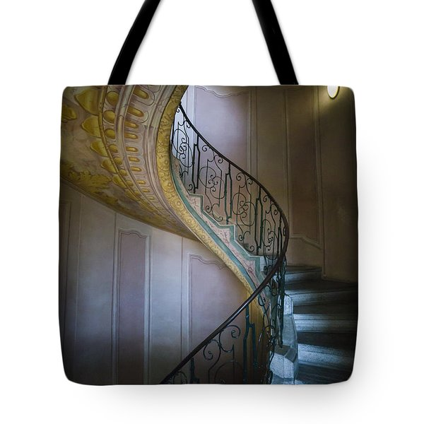 Spiral Staircase Melk Abbey II Tote Bag