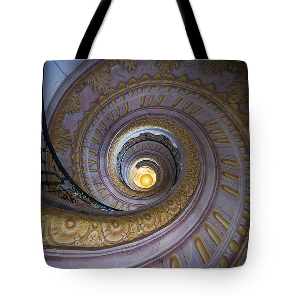 Spiral Staircase Melk Abbey IIi Tote Bag
