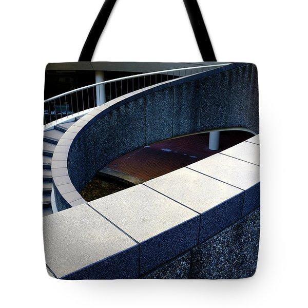 Spiral Stiars In Downtown Tacoma Washington Tote Bag