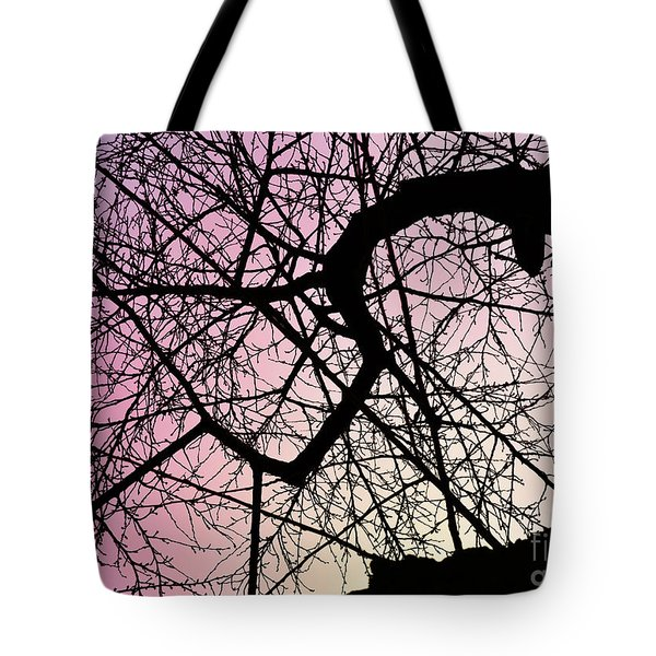 Spiral Tree Tote Bag