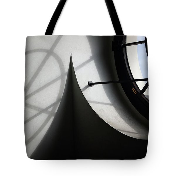 Spiral Window Tote Bag by Ana Mireles