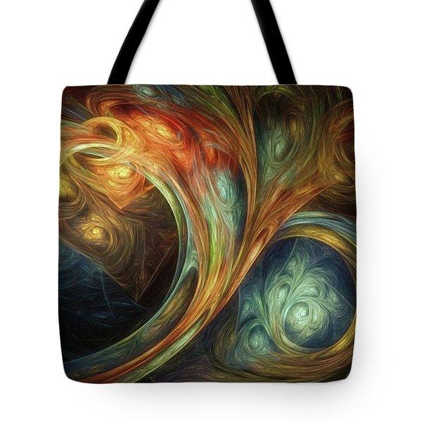 Spiralem Ramus Tote Bag