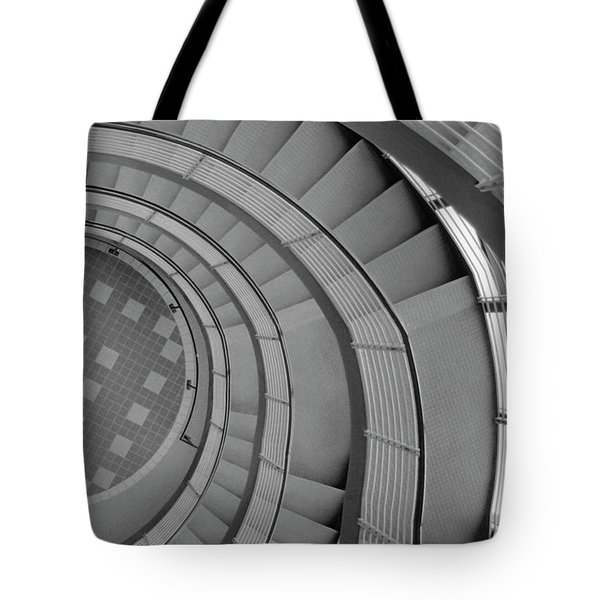 Spiraling Down  Tote Bag