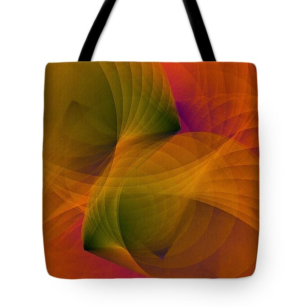 Spiraling Insight With Complicated Continuation Tote Bag