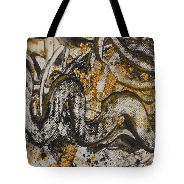 Spiraling Tote Bag