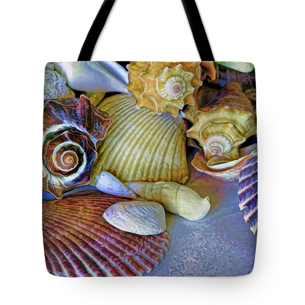Tote Bag featuring the photograph Spirals And Ridges 12 by Lynda Lehmann