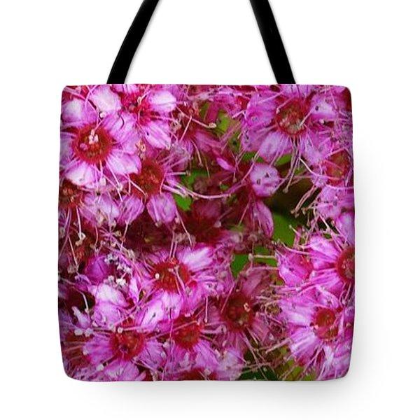 Spirea Pink  Tote Bag