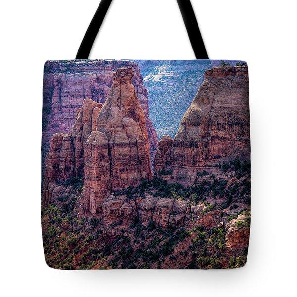Spires And Mesa Country Tote Bag