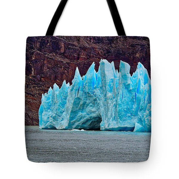 Spires Of Blue Tote Bag