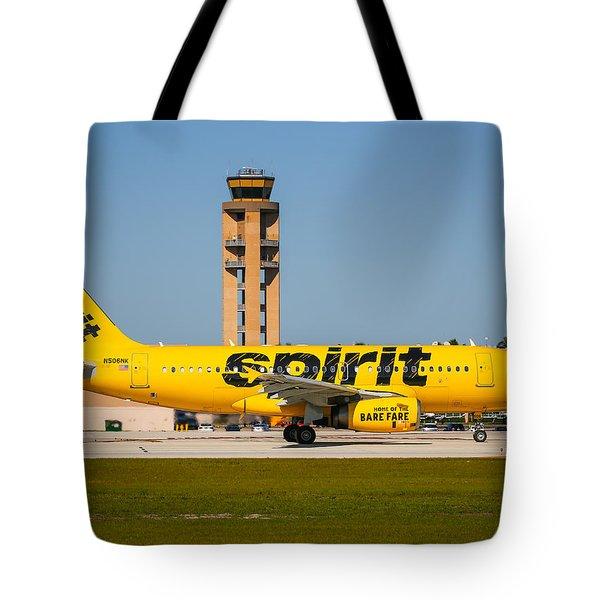 Spirit Airline Tote Bag