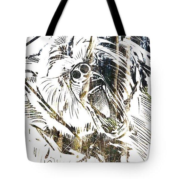 Spirit Animal . Bear Tote Bag
