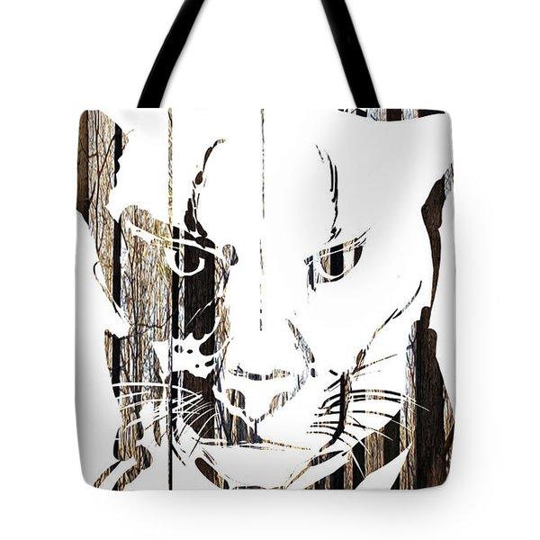 Spirit Animal . Cougar Tote Bag
