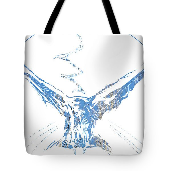 Spirit Animal . Crow Tote Bag