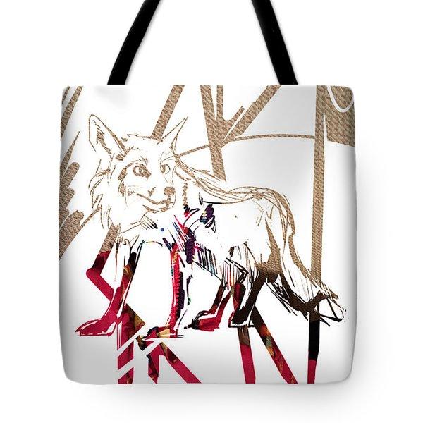 Spirit Animal . Fox Tote Bag